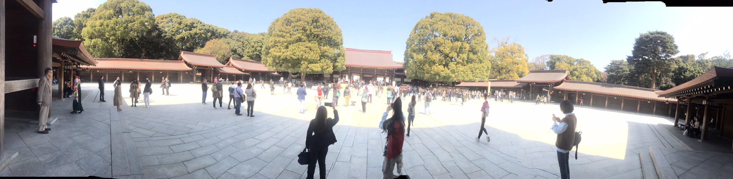 Tham quan Đền Meiji Jingu ở Tokyo Nhật Bản