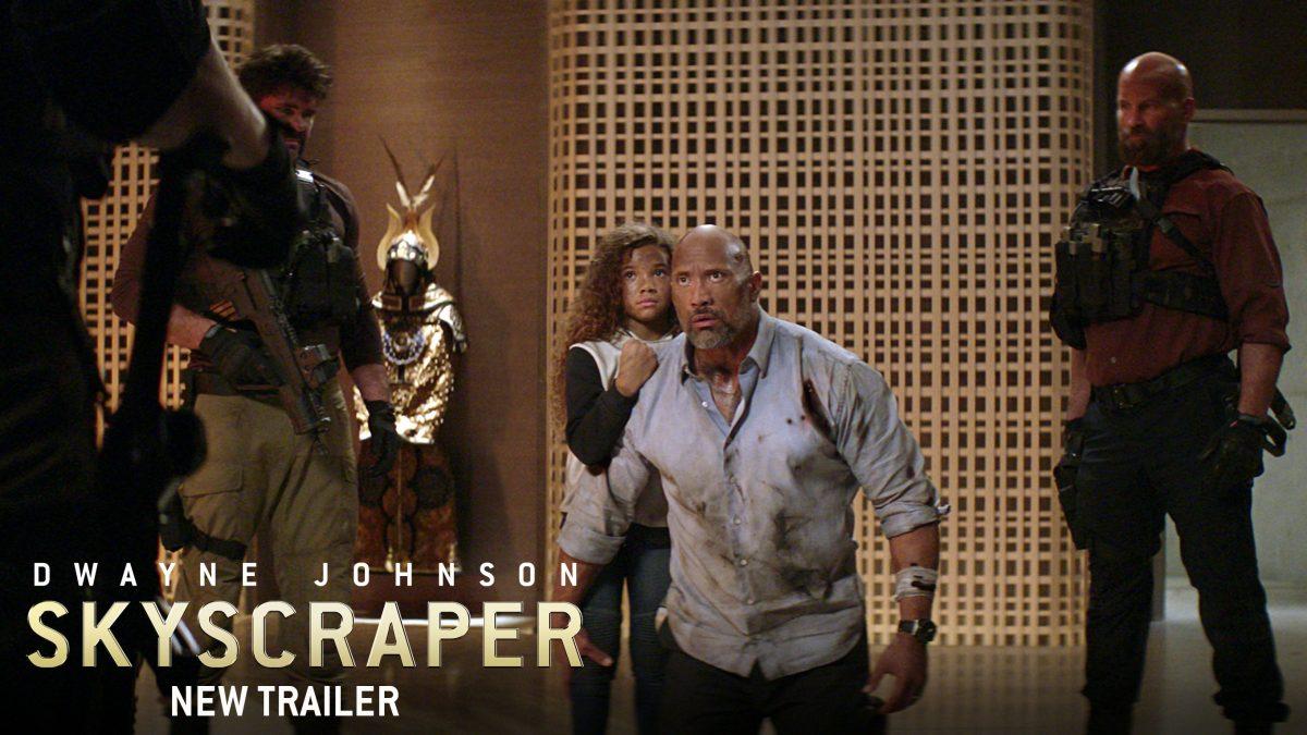 Phim Tòa Tháp Chọc Trời (Skyscraper) 2018 hồi hộp với diễn viên Dwayne The Rock Johnson