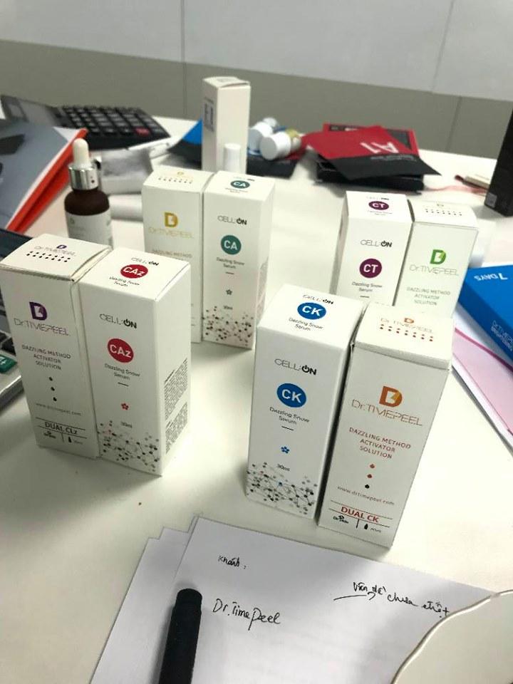 Mỹ phẩm của Dr. Skin Hàn Quốc - CJJBIO co., ltd